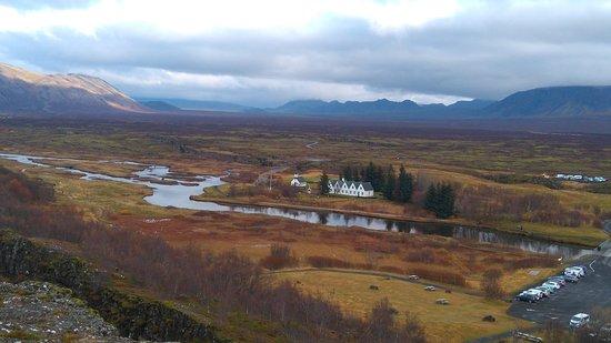 Mosfellsbaer, Islandia: Icelandic rift valley