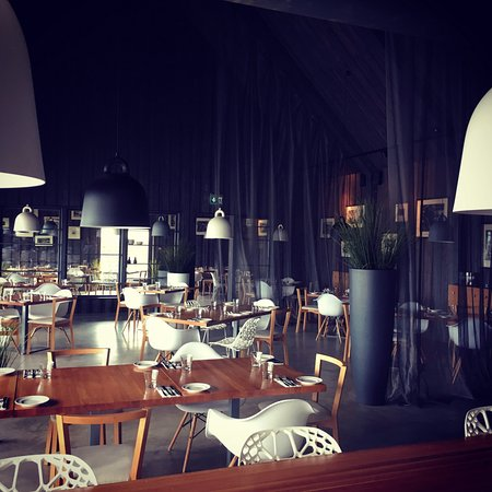 Харьюмаа, Эстония: Restaurant Ruhe interior