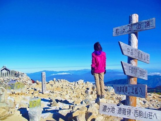 Kiso-machi, Japón: 木曽駒ヶ岳