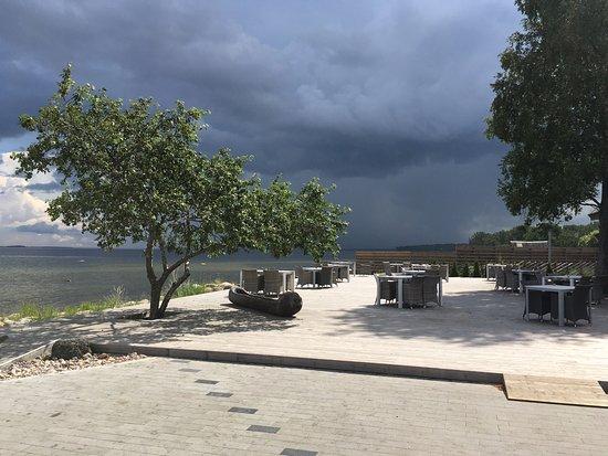 Harju County, Estonie : Sun before rain