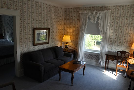 Fredonia, NY: Queen suite- Living room  (312)