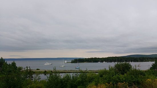 Baddeck, Kanada: View from the site