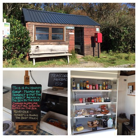 Craignure, UK : The Honesty Shop at Lochbuie