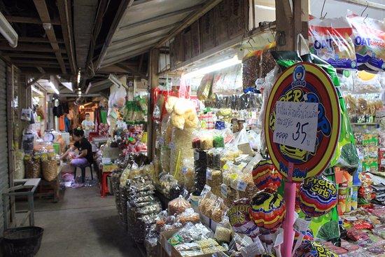 Mae Sot, Tailandia: The stalls