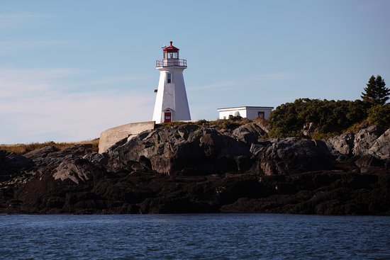 Saint Andrews, Kanada: Lighthouse in Passamaquoddy \bay
