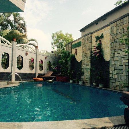 La piscine est un vrai plus !
