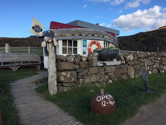 Isle of Mull, UK: Calgary Bay - ice cream shop