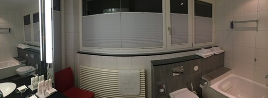 Radisson Blu Hotel, St. Gallen : Bathroom