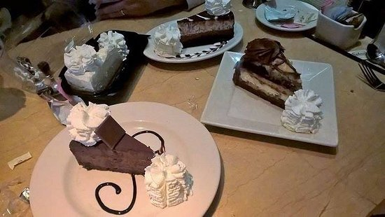 Roseville, CA: Vanilla bean, Godiva, Tuxedo, and Charlie's (I think) Outrageous