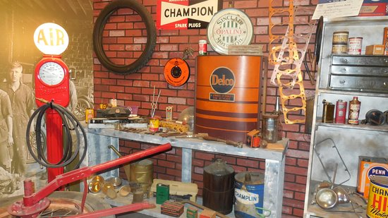 Oklahoma Route 66 Museum: Does this bring back memories???