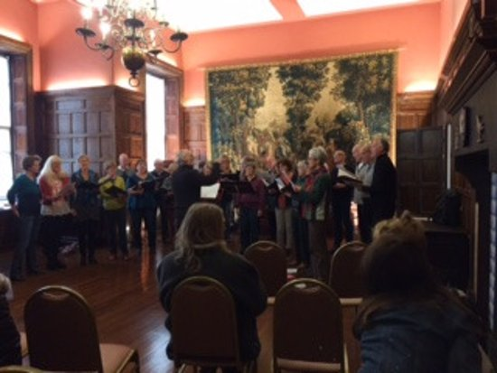 Cannon Hall Museum: entertainment in the ballroom