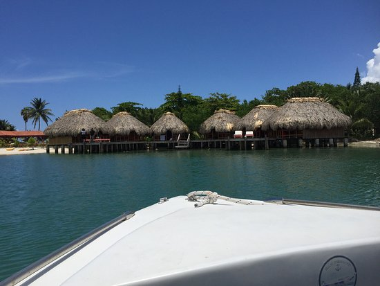St. George's Caye, Belice: Bayside bungalows