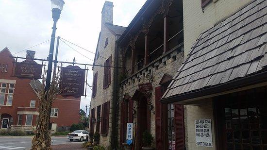 Cute little town, beautiful old tavern