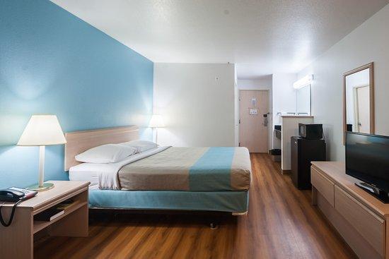 Motel 6 Seaside Oregon: Guest Room