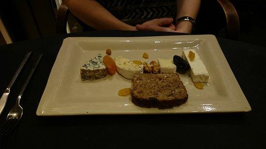 Zaventem, Bélgica: assiette de fromages affinés