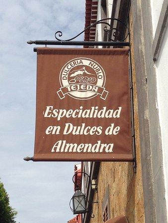 Tejeda, Espagne : Insegna del locale