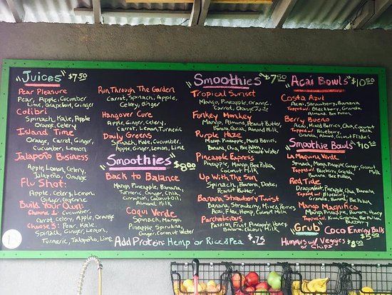 Palmer, Puerto Rico: Tons of choices & all made FRESH to order.