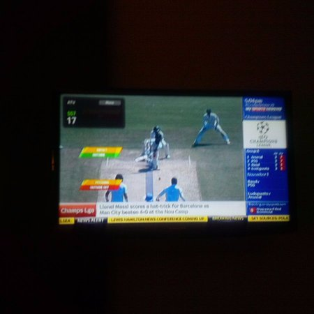 Garden Court Milpark: Hotel Channel sync to no. 17 as SS7 but in reality its showing SS BLITZ