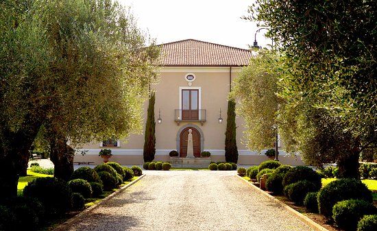 Gioia Tauro, Italien: Viale ingresso Casale Foti