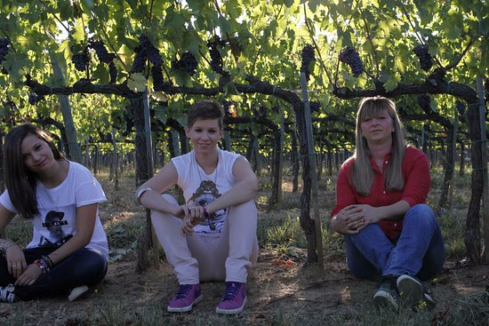 Montalcino, Italien: Arianna, Annalisa e Patrizia