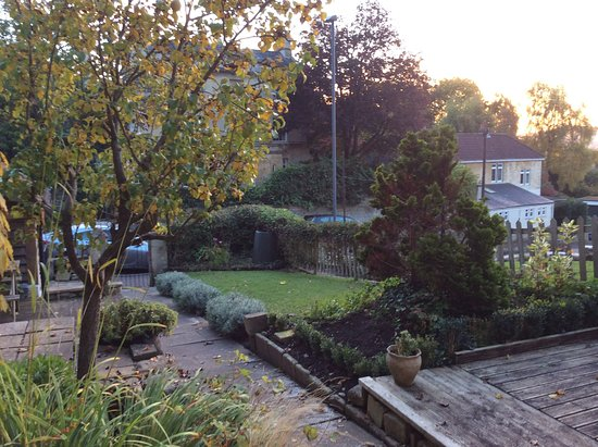 Bathford, UK: View from house of garden