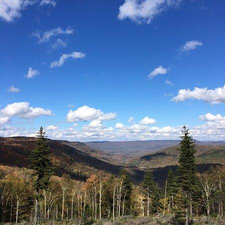 Marlinton, Batı Virjinya: Scenic Overlook on Highland Scenic Highway