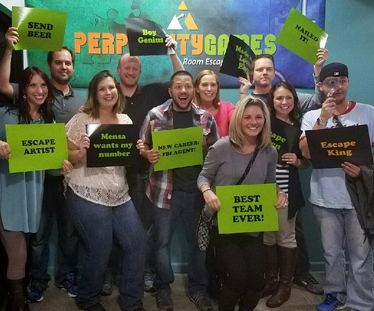 Perplexity Games Escape Room Cleveland