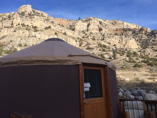 Lander, Wyoming: Beautiful views of the cliffs surrounding the area