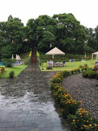 Hotel Yak & Yeti: Hotel courtyard