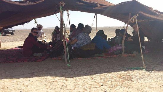 Morocco Trip Adventure: Nomad camp