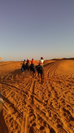 Morocco Trip Adventure: on the back of the camel