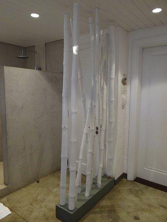 Porte d entrée et salle de bain de Zilwa Attitude Calodyne