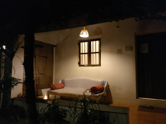 Ashvem Beach, Ινδία: Entrance to my room