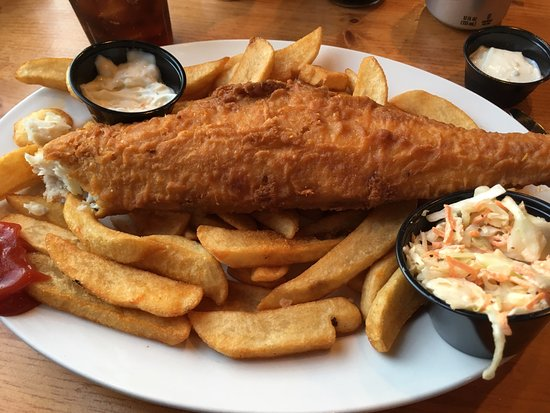 Scottsville, VA: Haddock dinner