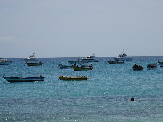 Praia de Santa Maria: Het uitzicht op het water vanaf dit deel van het strand