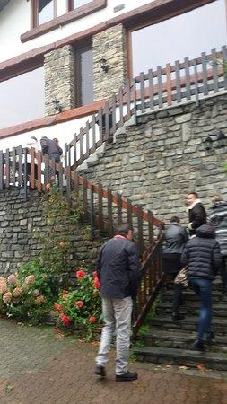 Pinerolo, Itália: Scala di accesso al locale