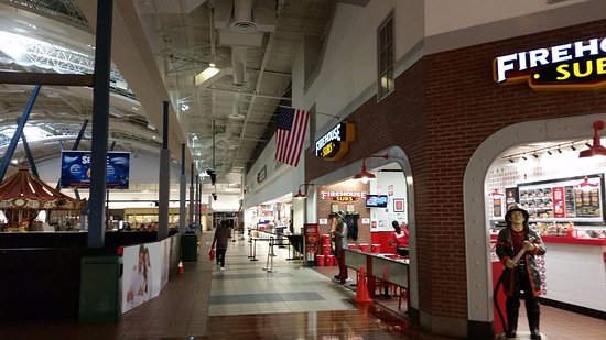 Concord, NC: First time I have seen Firehouse in a mall.