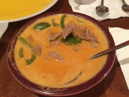 Irving, TX: Panang Curry with Beef