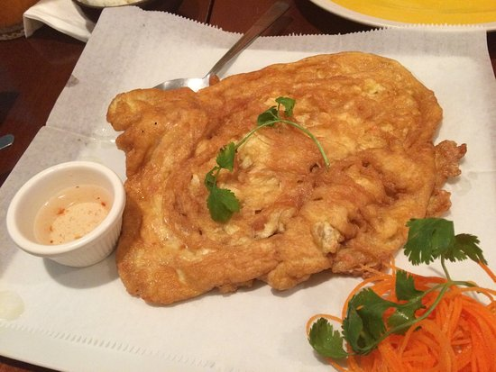 Irving, TX: Thai Omelet with crab meat was good but oily. Ask to make less oily