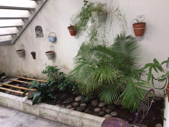 Boho Rooms: pintoresco pero no comodo. lLlovio dos dias y los patios no tienen alero, para llegar a la entra