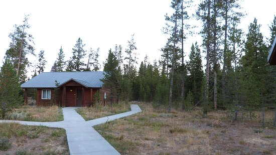 Cabins contain 4 conventional style motel rooms picture for Headwaters cabins gran teton recensioni