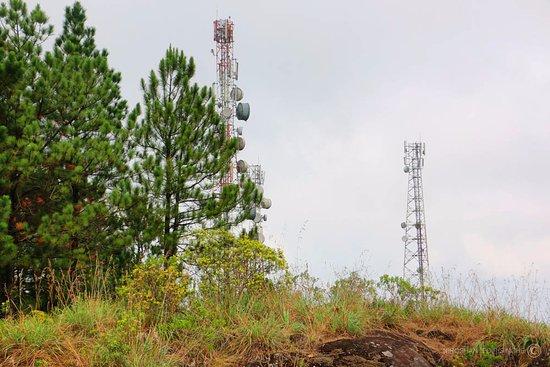 Provincia Central, Sri Lanka: Peak of Peacock Hills