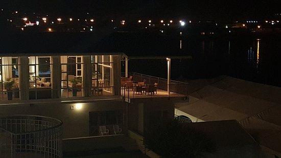 Saldanha, Sydafrika: Night scene from room