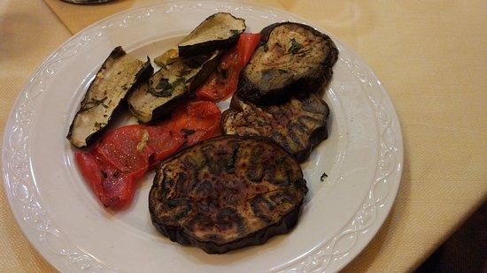 Da Vito e Dina: Grilled vegetable