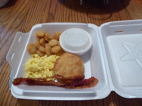 LaFayette, GA: Even the gravy is kept hot