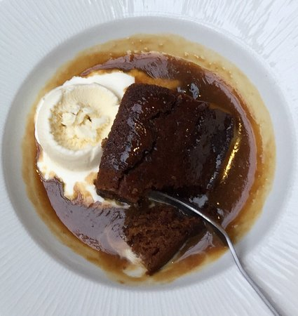 Seaham, UK: Gorgeous sticky toffee pudding.