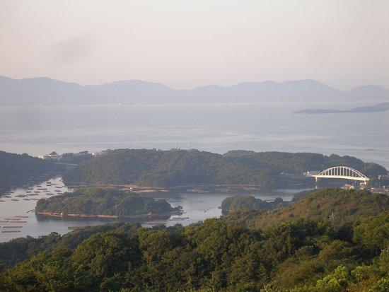 Setouchi, Japón: 朝の風景
