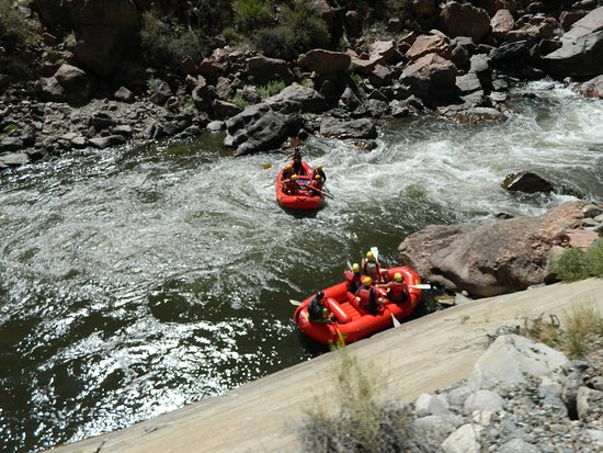 Royal Gorge Route Railroad: Rafters