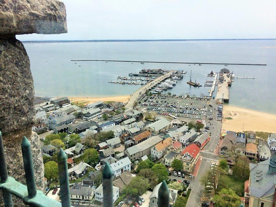 Pilgrim Monument & Provincetown Museum: View of the Harbor