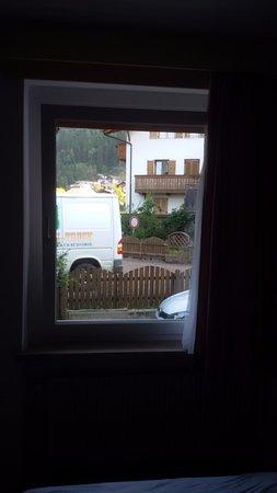 San Leonardo in Passiria, Włochy: Dalla finestra della camera
